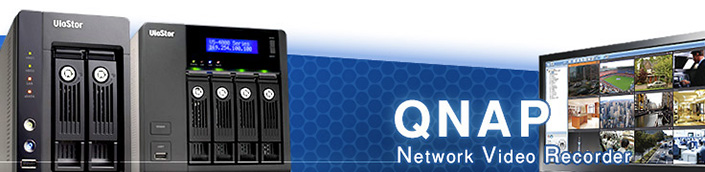 QNAP NVR Network Video Recorder 銷售頁面