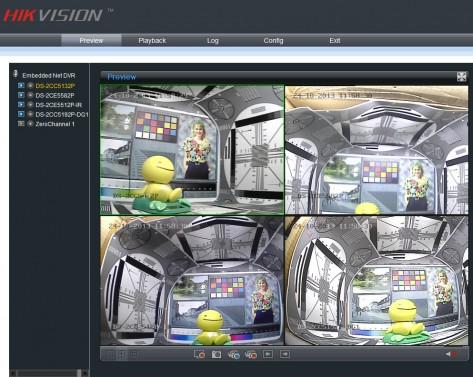 HIKVISION CCTV Screenshot